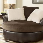 wonderful nice adorable cool chairs for living room with large ottoman concept in black and soft design with white pillows