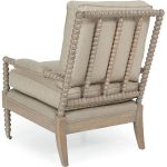 Wonderful Nice Adorable Cool Fantastic Creative Spool Chair With Wooden Frame And Has Nice Decorative Legs With Brown Coloring Idea