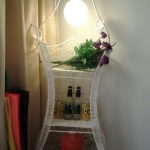 wonderful nice adorable cute fantastic corner lighting fixture with Special-glove-basket-weaving-rattan-sofa concept dsign with small pendant light concept