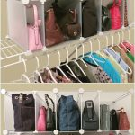 Wonderful Nice Adorable Cute Feminine 17 Clever Handbag Storage Ideas And Solutions With Nice Iron Frame With White Cloth Concept Design