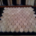wonderful nice adorable cute honey comb floor tiles sample with white coloring concept suitable for bathroom decoration