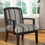 Wonderful Nice Creative Modern Adorable Living Room Chair For Two With Black Wooden Frame With Hand And Nice Striped Black And White