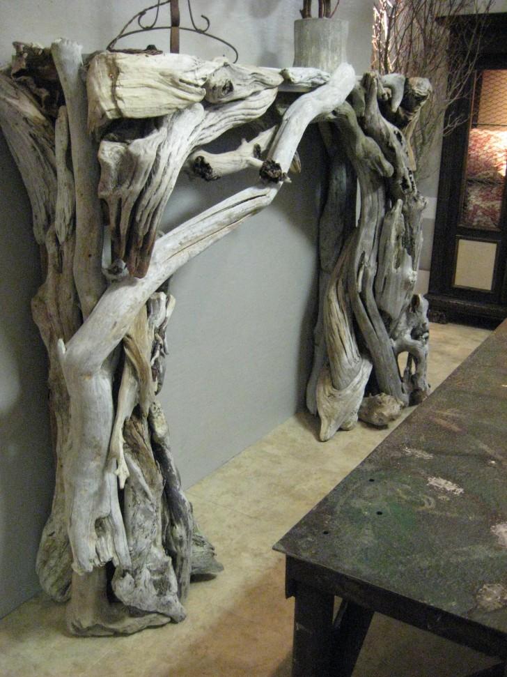Creative Decoration Of Driftwood Mantels Homesfeed