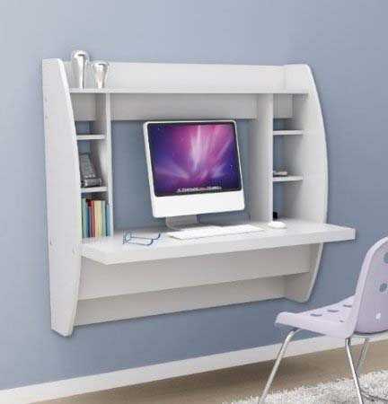 White-color-decor-ideas-small-desks-for-small-