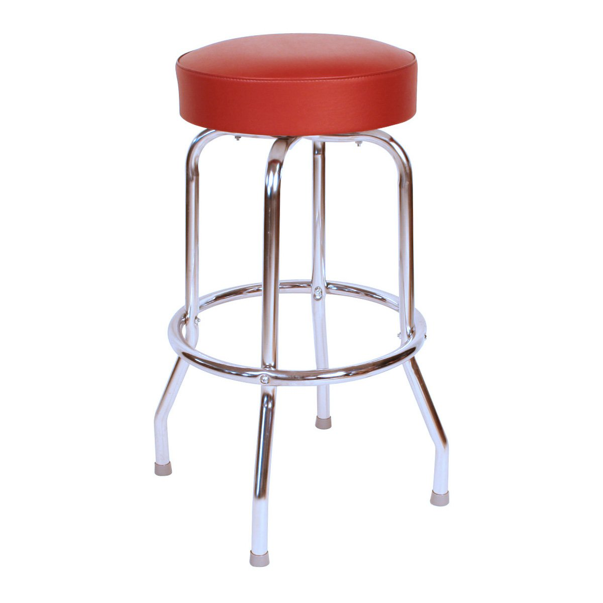 Houzz Bar Stools Collections HomesFeed : a bar chair with red seating feature and no back feature from homesfeed.com size 1200 x 1200 jpeg 67kB