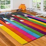 adorable-colorful-nice-great-Rugs-Design-For-Kids-Room-With-Dalmation-And-Windows-and-nice-coloring-red-pink-blue-green-yellow