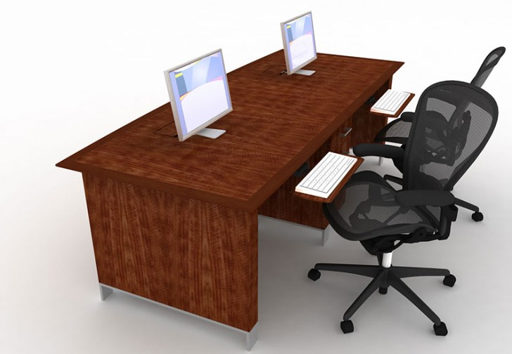 Wonderful concept of 2 person desks for home homesfeed Desk for two persons