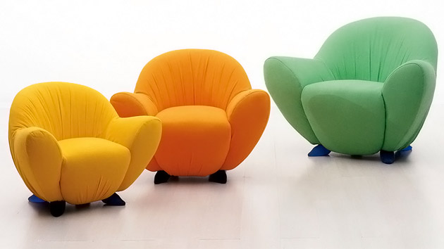Comfy Chair For Bedroom With Modern Lounge Chairs With Soft Design For