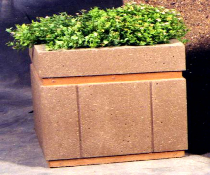 Various Concept Of Concrete Planter Boxes For Home