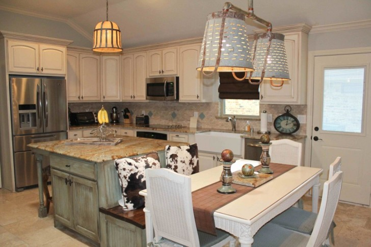 Preferable kitchen island with storage and seating homesfeed - Small kitchen island table ...