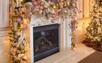 adorable-nice-luxurous-gold-nice-christmas-decoration-for-mantel-with-romantic-christmas-mantel-decorations-728x649