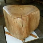 Adorable Nice Simpe Small Tree Trunk Side Table With Real Hardwood Design Concept And Nice Coloring Original Wood For Home Decoration