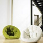adorable-nice-simple-lower-great-comfy-chair-for-bedroom-with-ottoman-soft-material-concept-in-white-and-green-coloring-choice