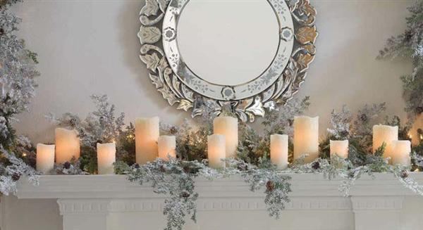 Wonderful Idea Of Christmas Decoration For Mantel HomesFeed - Mantel christmas decorating ideas