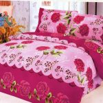 amazing-nice-cool-attractive-beautiful-bad-sheet-with-pink-flowery-decoration-conceot-with-nice-ornamet-and-soft-fabric-design-728x539