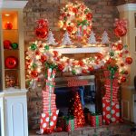 awesome-nice-coolest-adorable-christmas-decoration-for-mantel-with-red-nuance-with-handy-craft-decoration-made-of-paper