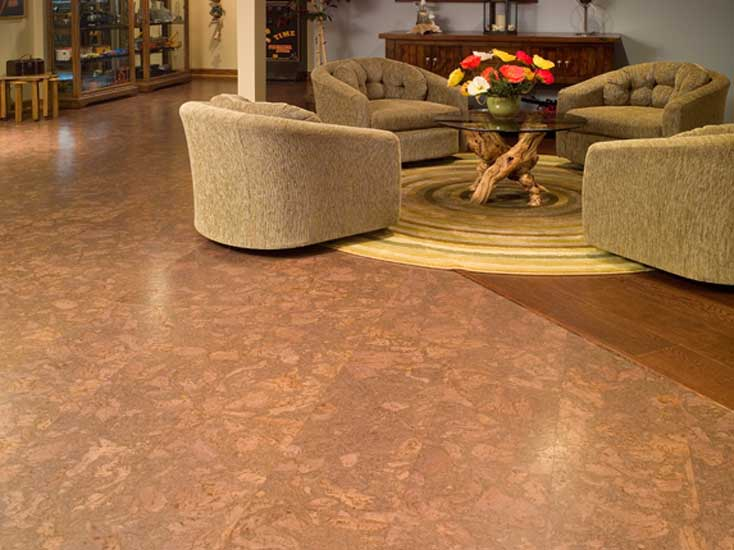 Bring basement floor covering more vivid homesfeed for Best flooring for basement family room