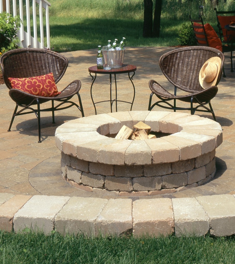 Used Patio Furniture Minneapolis: Fire Table Kit Ideas For Outdoor Patio