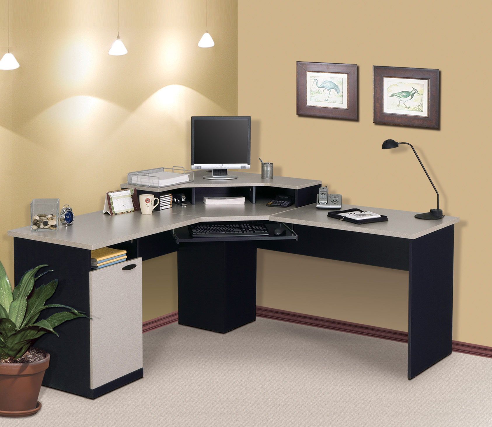 Cheap corner desks budget friendly and room beautifier for Best home office computer 2015