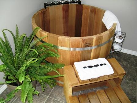 Japanese Bathtub. Finest East Meets West The Japanese Ofuro Tub With ...