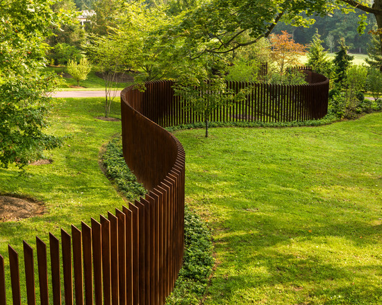 Classic Unique Backyard Fence Ideas Amazing Design