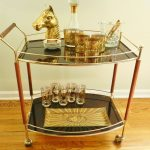cool-adorable-modern-ncie-wonderful-shelve-Bar-Cart-with-nice-luxurious-frame-conceot-with-nice-gold-head-horse-decoration