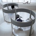 Cool Nice Wonderful Adorable Unique Glass Office Dividers With S Modern Concept With Small Room