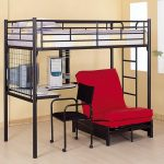 creative-adorable-nice-mdoern-tiny-loft-bed-with-desk-design-with-metal-loft-beds-with-desk-with-red-chair-and-back-chair