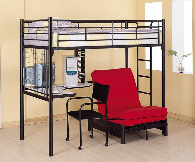 Creative Concept Of Loft Bed With Desk Homesfeed