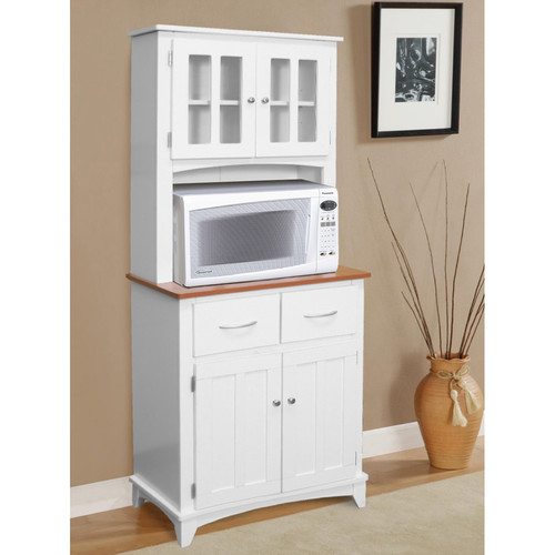Microwave Stand Designs : Selecting your favorite microwave cart design homesfeed