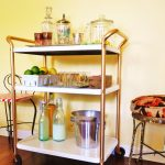 creative-luxurious-adorable-nice-wonderful-shelve-Bar-Cart-with-golden-barred-bar-cart-design-cocnept-with-three-levels-design