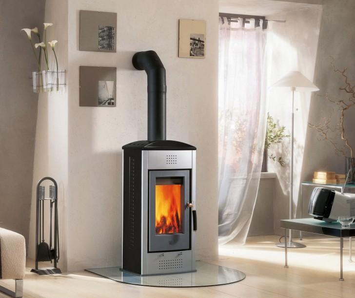 Creative Modern Nice Adorable Wood Burning Stove With