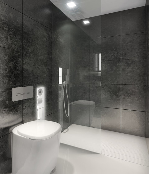 How wonderful is built in modern shower design homesfeed for Built in shower ideas