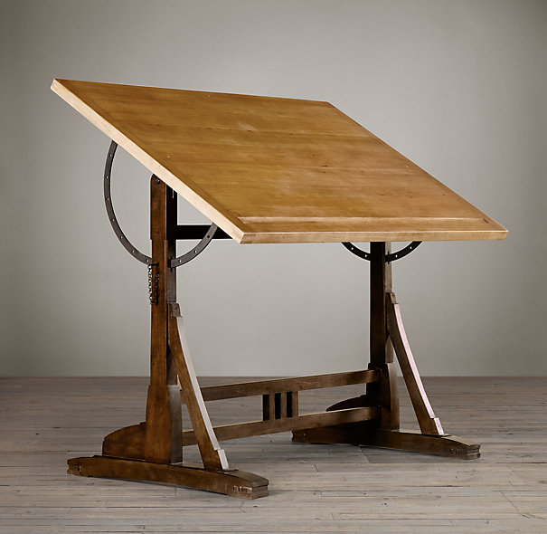 Various modern and classic drafting table design for for Various architectural concepts