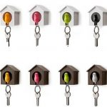 creative-nice-adorable-cute-fantastic-key-holder-for-wall-with-house-design-shape-concept-with-nice-bird-decoration-with-various-colors