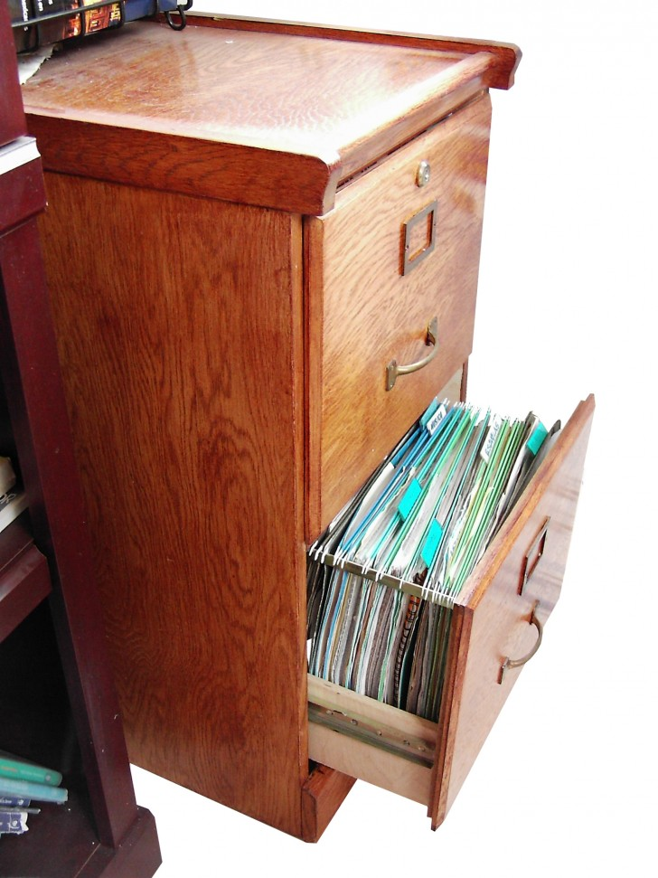 creative-nice-simple-wonderful-natural-wood-file-cabinet-  sc 1 st  HomesFeed & The Best Choice of Wood File Cabinet for Your Home Office | HomesFeed