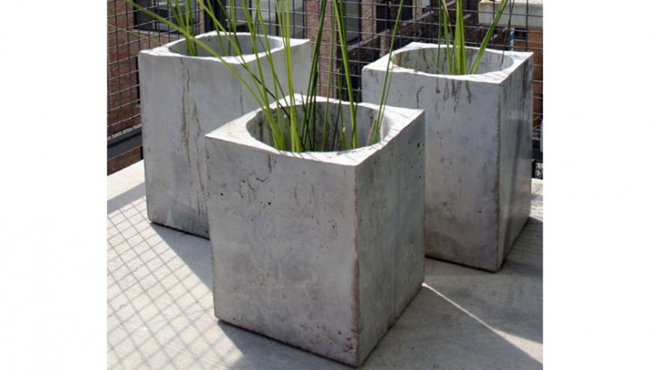 creative garden planters with Concrete Planter Boxes on Diy Tire Decor That Will Bring Colorfulness Into Your Garden likewise Tyre Garden Ideas additionally Plant Shelves besides How To Repurpose A Trash Can Into A Planter as well Article.