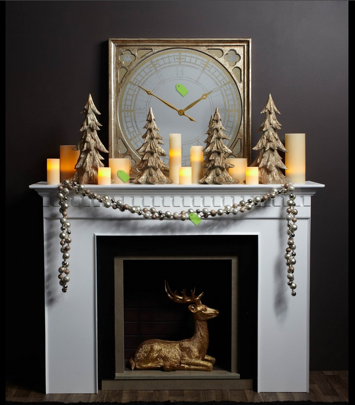 55 Christmas Mantel Decoration Ideas for a Very Country Holiday. Give Santa a warm welcome with these merry mantel and fireplace decorating ideas.