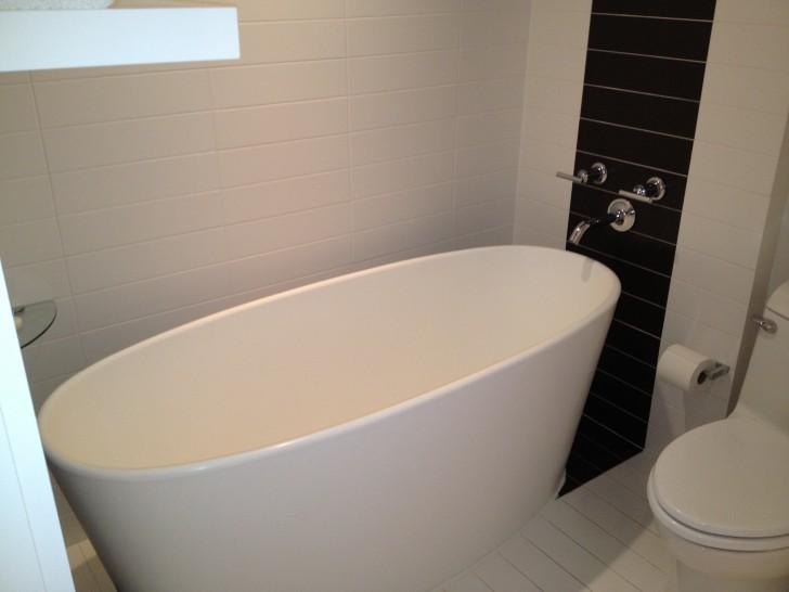 Smart Choice of Narrow Bathtub for You | HomesFeed