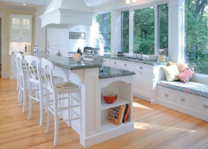 Kitchen Island And Bar adorable design of kitchen island with bar seating | homesfeed