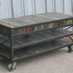 fantastic-old-classic-traditional-nice-tv-console-idea-with-coolest-reclaimed-barge-tv-stand-with-wheels-concept-and-can-be-moved-easily-728x500