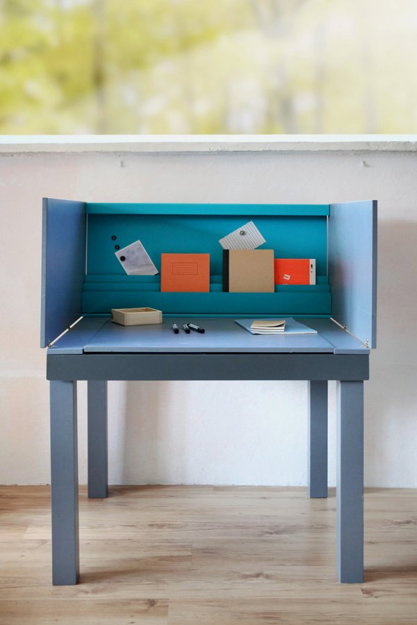 Awesome Desk Design for Small Space | HomesFeed