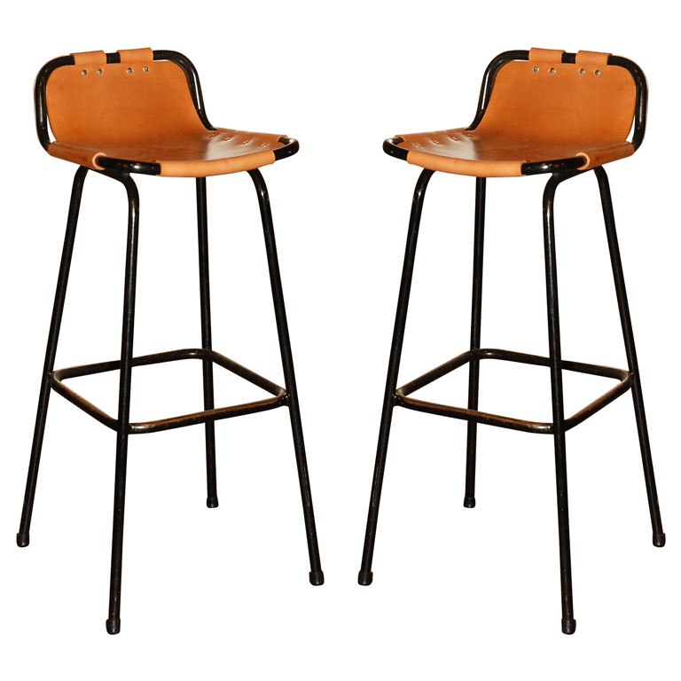 High Legs Bar Chairs With Low Back Feature