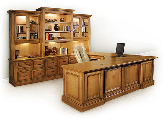 Creative Design Of U Shaped Desk For Home Office Homesfeed