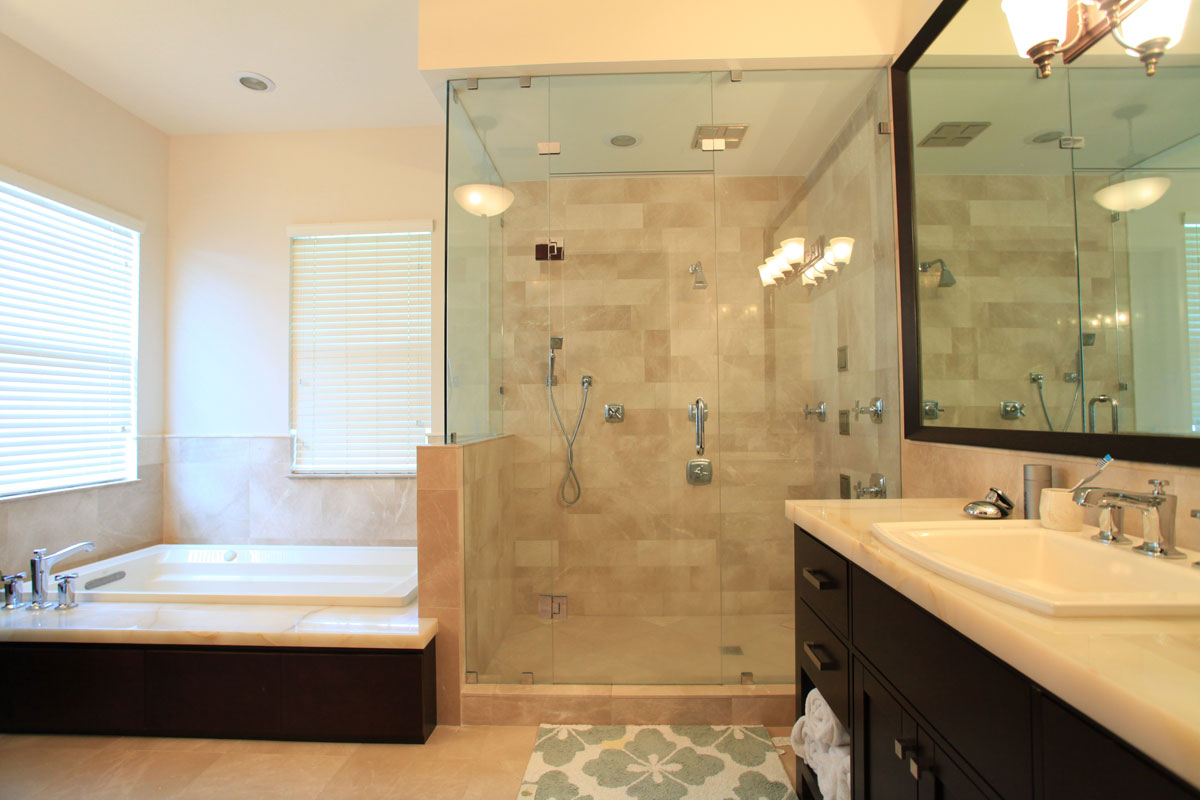 Draft Your Bath Remodel Cost Estimation HomesFeed - How much does it cost to redo a bathroom shower