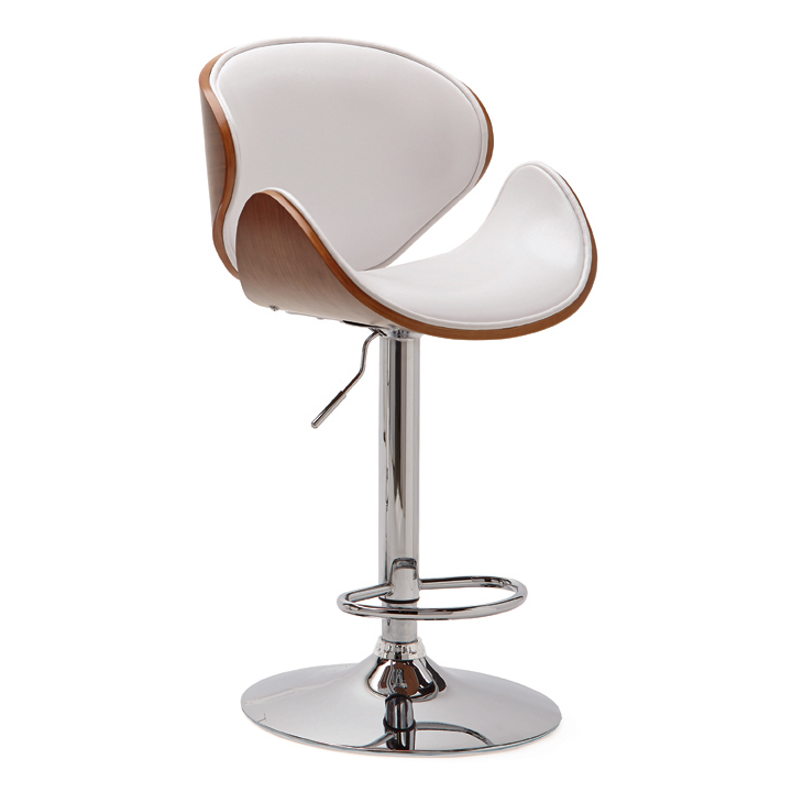unique bar furniture. Luxurious And Unique Bar Stool With Stainless Steel Leg Cozy Back Furniture