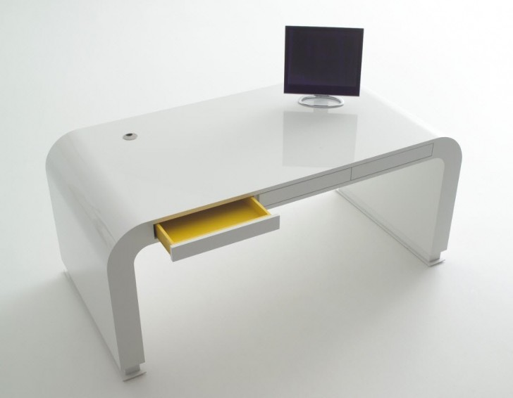 smart choice of small slim computer desk