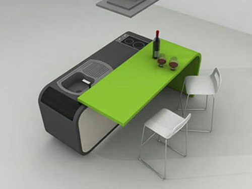 Modular Furniture Design modular furniture allows shanghai home by rigi design to evolve with its family Modern Nice Adorable Coolest Fresh Modular Kitchen Table