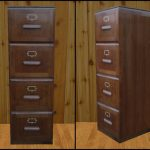 modern-nice-classic-look-adorable-wood-filling-cabinet-with-four-drawers-design-concept-with-higher-design-in-old-brown