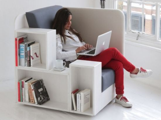 Genial Modern Nice Creative Cool Comfortable Library Reading Chair